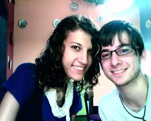 Taylor and I at Joe Bucks