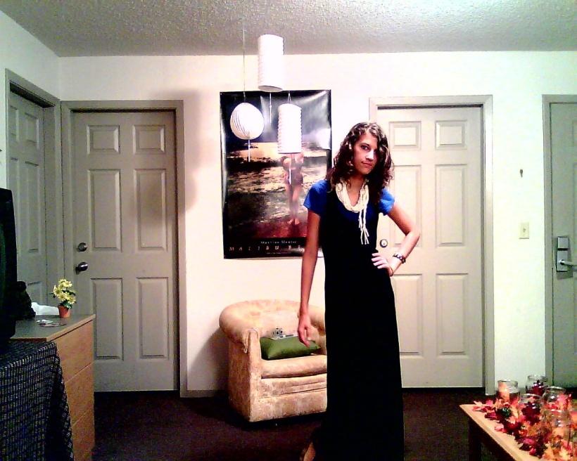 Maxi dress (bad photo...)