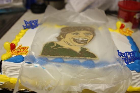 DIY Icing Cake Transfer | Mismatched Mess