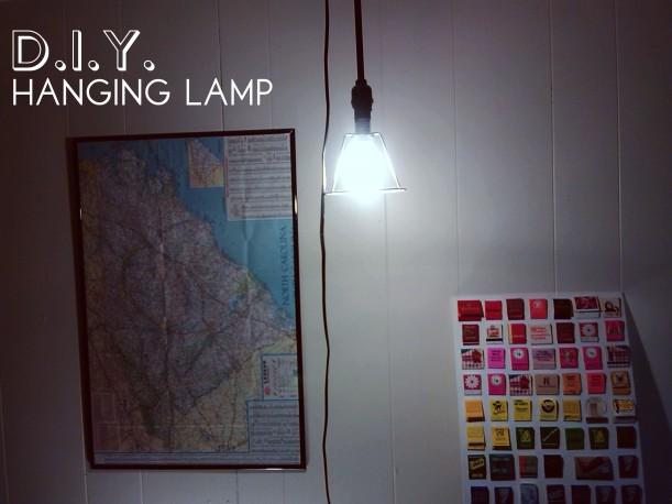 diyhanginglamp