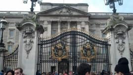 Buckingham Gates and Palace