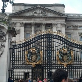 Buckingham Gates and Palace