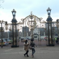 Canada Memorial Gate by Buckingham Palace