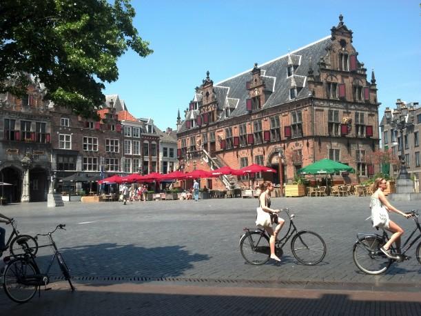 Nijmegen, Netherlands biking